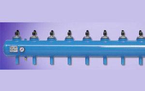 Bình tích áp và van điện từ - Hệ thống hút bụi