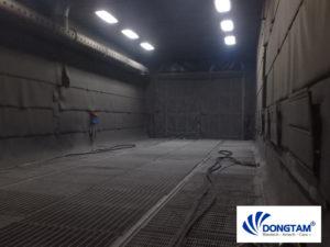 Chế tạo phòng phun bi - phòng phun sơn cho nhà máy thép tiền chế 2