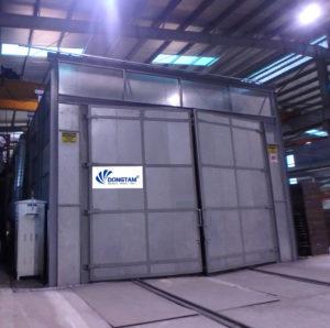 Thiết kế, chế tạo hệ thống phòng phun bi - phòng phun sơn cho nhà máy thép tiền chế 1