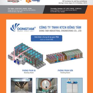 Công Ty Đồng Tâm nổi bật tại Triển lãm Metalex Việt Nam 2017