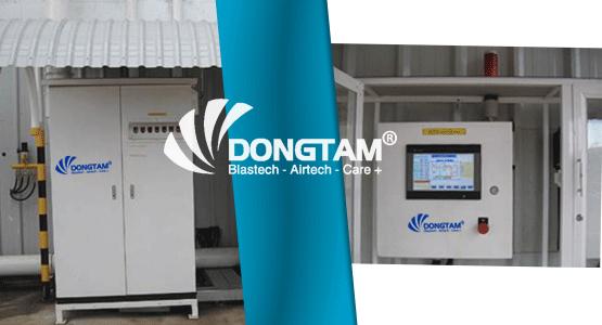 Tủ điều khiển hệ thống phòng phun bi - Gọn nhẹ, An toàn