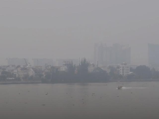 Hiện tượng mù khô - Tựa như sương mù ở các vùng núi