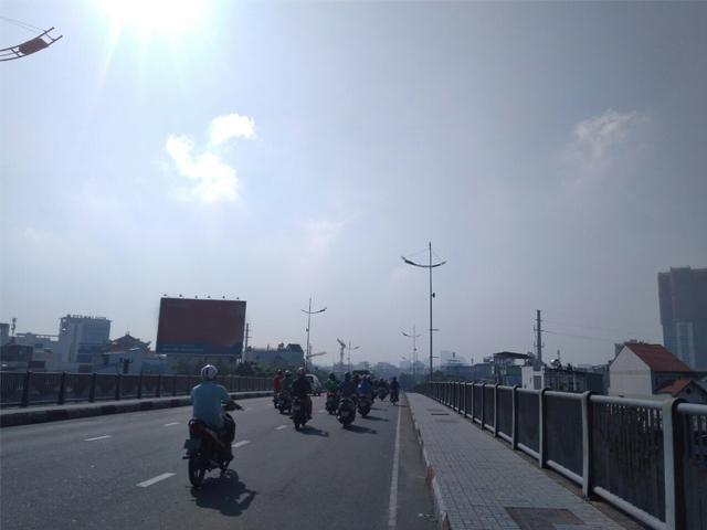 Ô nhiễm môi trường nhìn thấy hiện tượng mù khô