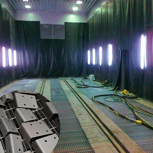 Phòng phun bi thép - Làm sạch bề mặt chi tiếc vật phẩm