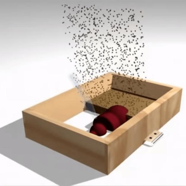 Ô nhiễm từ bụi cát - Khi đúc khuôn