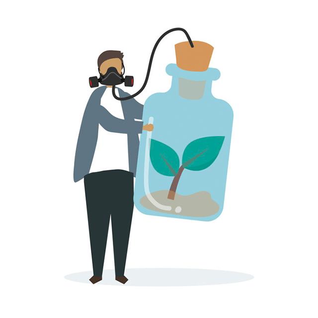 Làm gì để bảo vệ sức khỏe - Bảo vệ môi trường trồng nhiều cây xanh và xã thải theo quy định