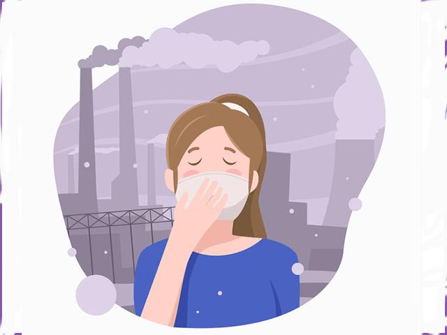 Nồng độ bụi ô nhiễm trong không khí