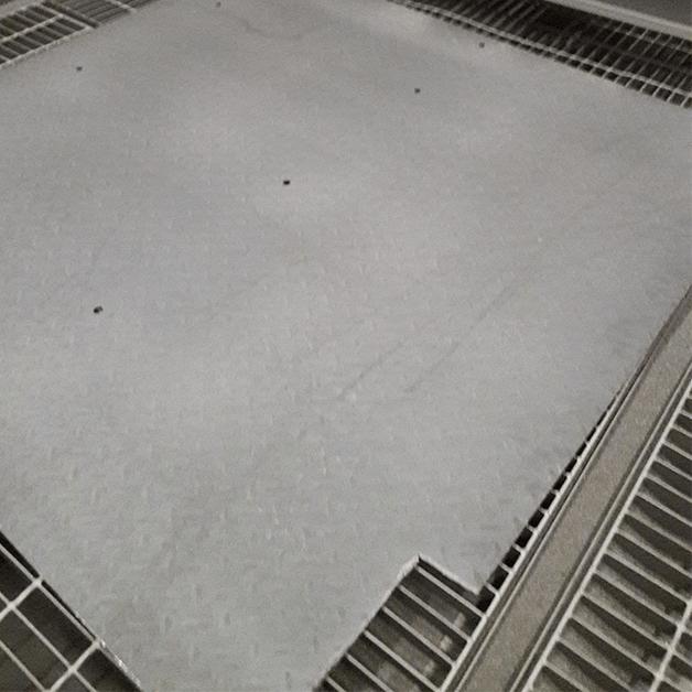 Tấm thép được làm sạch - Khi xác định được lỗi bề mặt