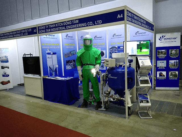 Công ty KTCN Đồng Tâm Tham gia triển làm VIMAF - VSIF - 2019