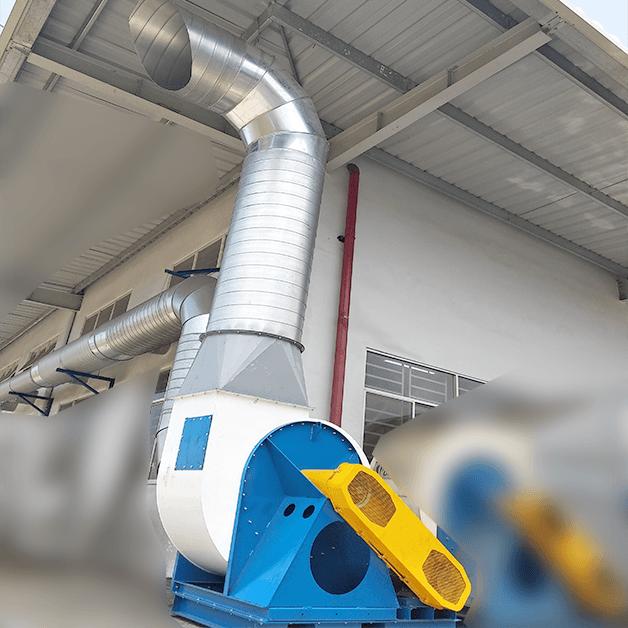 Hệ thống hút bụi phòng bi tại công ty Nhật Bản