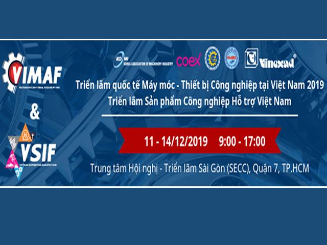 Sản phẩm Công nghiệp Hỗ trợ Việt Nam - VIMAF & VSIF 2019