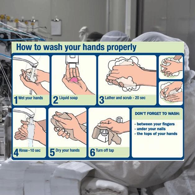 Rửa tay thường xuyên - Phòng ngừa vi khuẩn