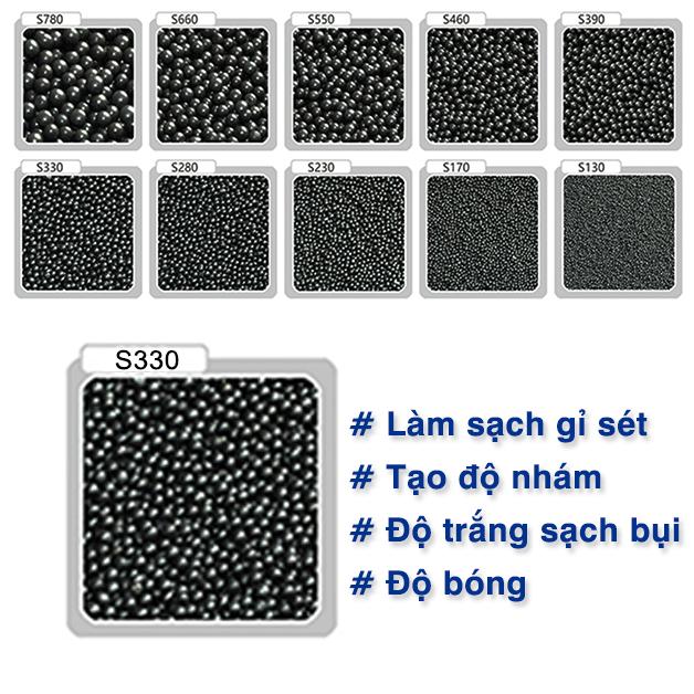 Ứng dụng hạt bi thép S330 trong công nghiệp
