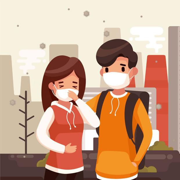 Các nhà nghiên cưu cho rằng: virús và ô nhiễm không khí gia tăng nguy cơ bệnh hơn