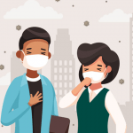 Virus, vi khuẩntrở nên nguy hiểm nhờ ô nhiễm không khí