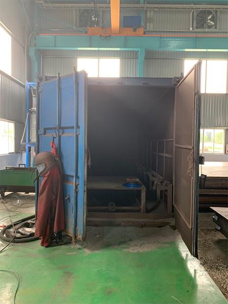 Hệ thống phòng phun bi container
