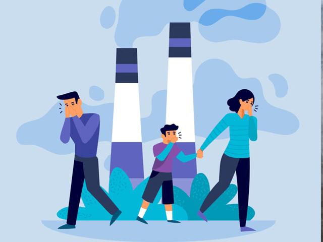 Ô nhiễm không khí - Làm giảm tuổi thọ người tiếp xúc