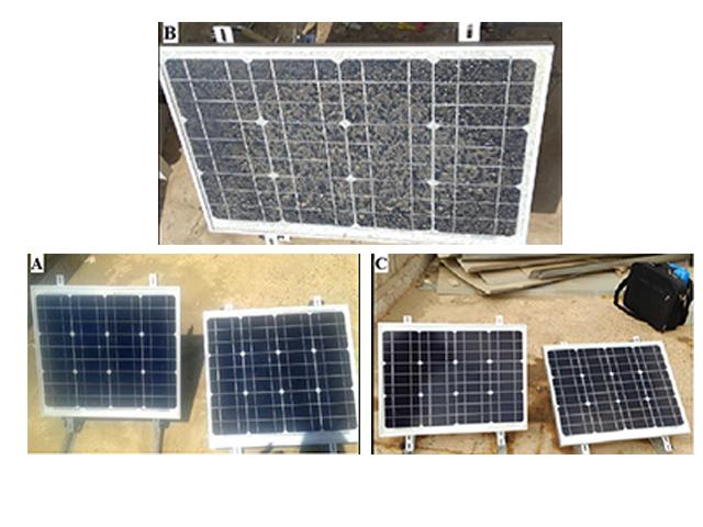 Bụi bám trên Pin năng lượng mặt trời