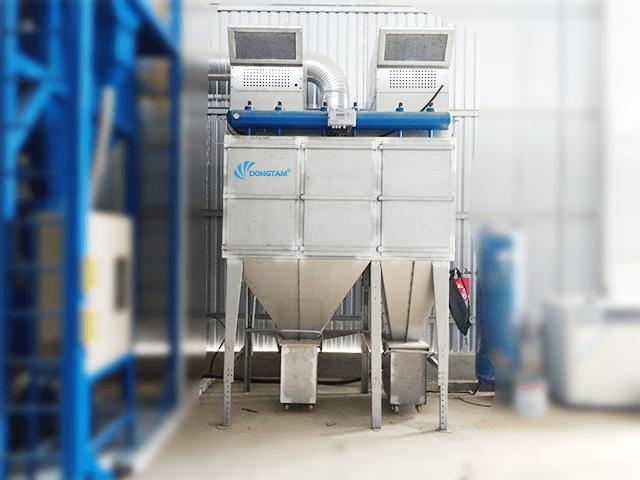 Hệ thống hút bụi phòng phun bi | KTCN Đồng Tâm