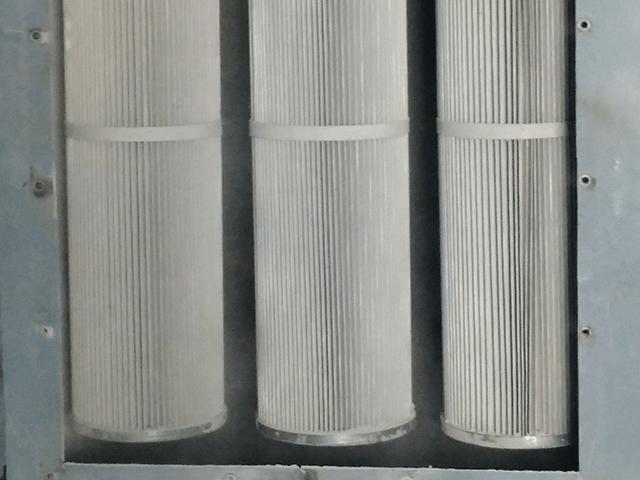 Lõi lọc bụi Cartridge sử dụng cho hệ thống hút bụi sơn tĩnh điện