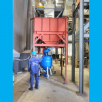 Nâng cấp phòng phun bi cho công ty sản xuất lò hơi – Giảm số lượng người làm việc