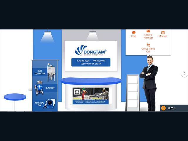 Booth #5 KTCN Đồng Tâm tham gia triễn lãm Metalex 2020