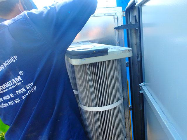 Bộ lọc không khí xếp ly - Xử dụng cho hệ thống lọc bụi nặng