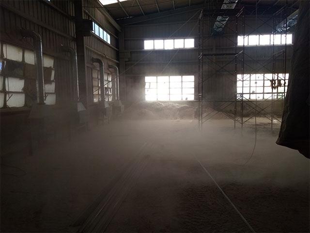 Bụi mịn phát sinh trong sản xuất công nghiệp - Cần thu gom