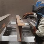 Cát sắt làm sạch rỉ sét | Bụi bề mặt kim loại