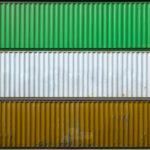 Xử lý bề mặt thép và sơn container vận chuyển